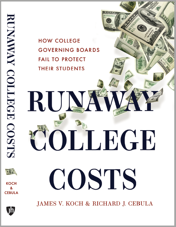 Runaway College Costs Book Co-Authored by Richard J. Cebula