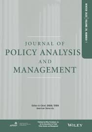 journal-of-policy-analysis-and-management